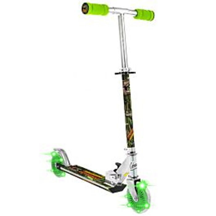 Dinosaur Scooter with 2 Light up Wheels