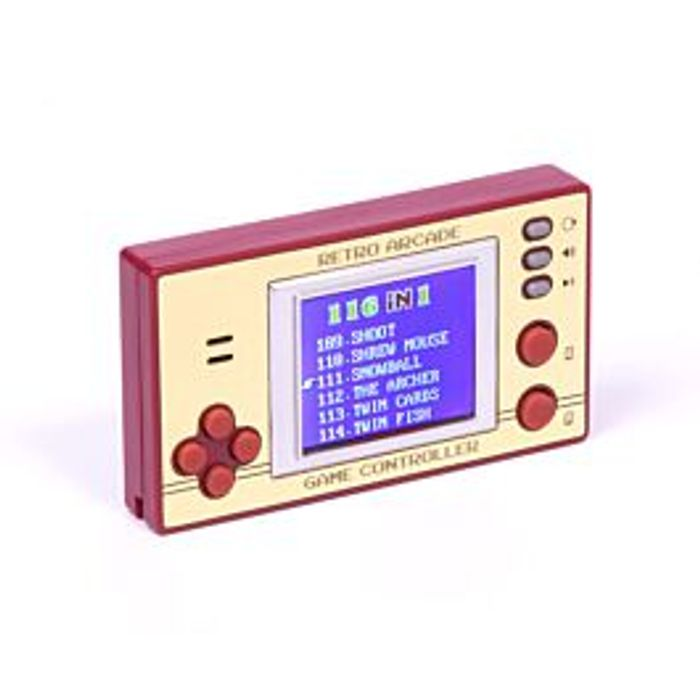 Best Price! Retro Pocket Games with LCD Screen and 100 Games
