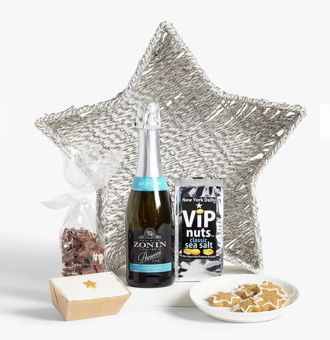 Best Price! John Lewis & Partners Silver Star Basket