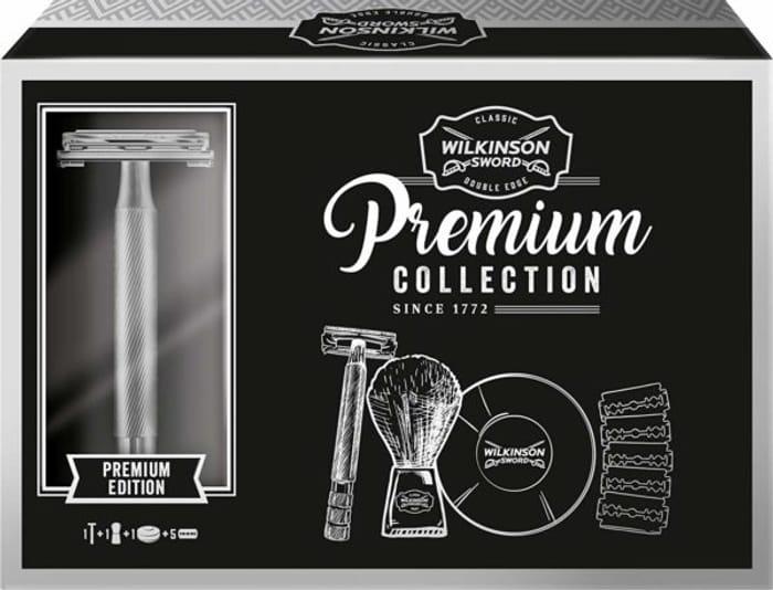 Wilkinson Sword Premium Classic Razor Shaving Gift Set.