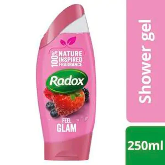 Radox 250ml Shower Gel / Shower Cream / Hand Wash 60%off@ Superdrug