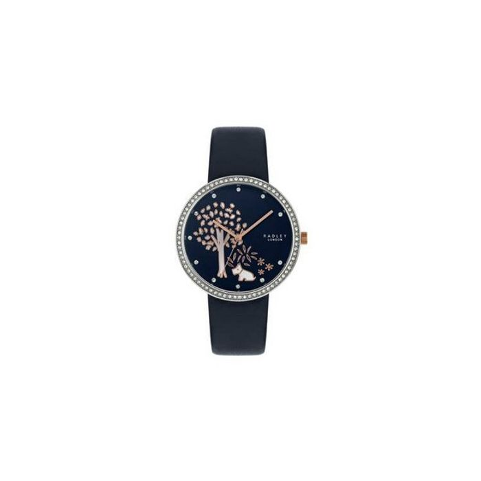 Radley London Blue Leather Strap Watch