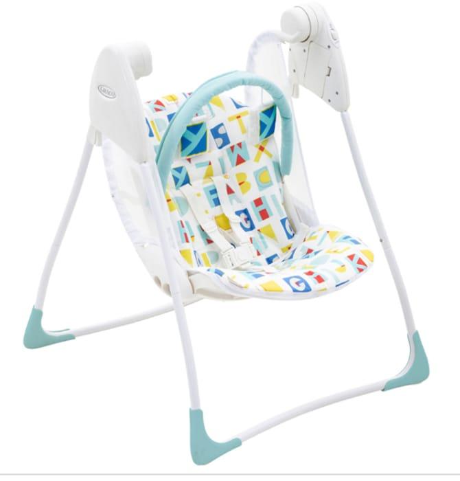 Graco Baby Delight Swing - Block Alphabet