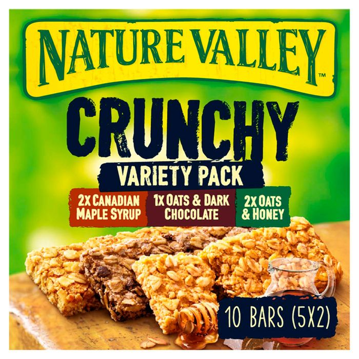 Cheap Nature Valley Crunchy Granola Variety Cereal Bars 5 X 42G, £1.19!