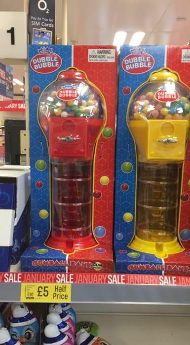 Double Bubble Chewing Gum Machine
