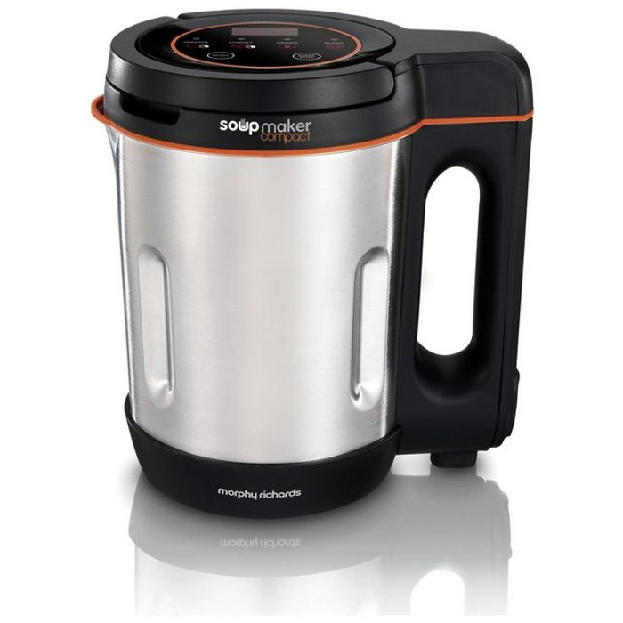 Morphy Richards 501021 Compact Soup Maker - Stainless Steel Only £34.99
