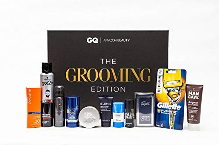 Amazon Beauty X GQ Presents: The Grooming Edition worth £180