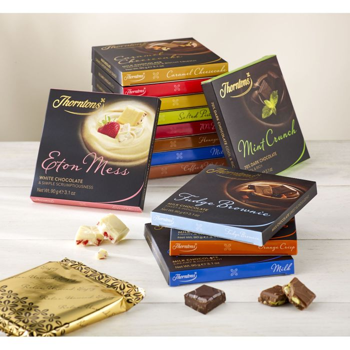 Free 4 Thorntons Chocolate Blocks up to £15 after Cashback