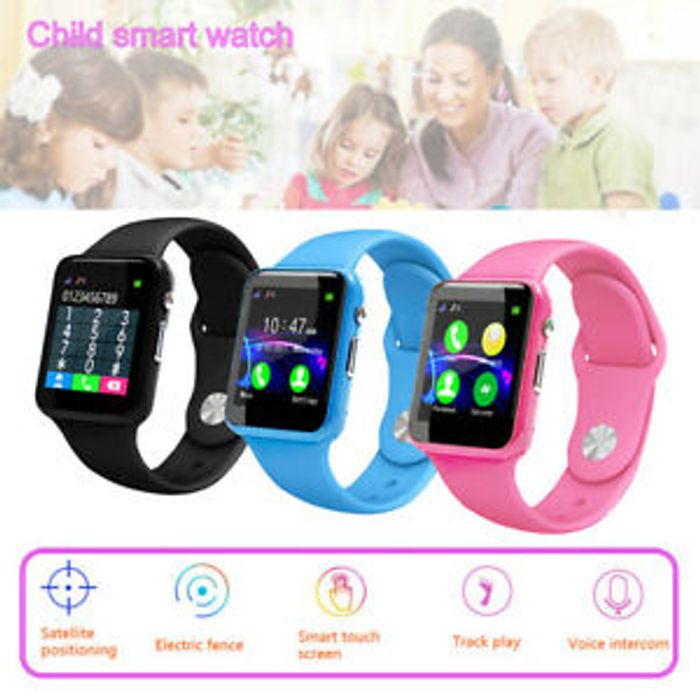 Cheap Kid's Smart Watch with GPS Tracker - Only £10.44