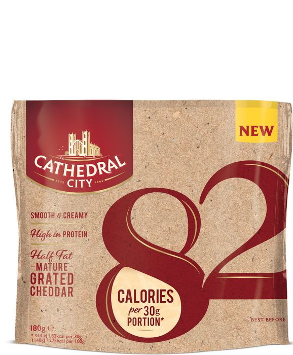 Free Cathedral City 82 Half Fat Mature Cheese 200g - Shopmium