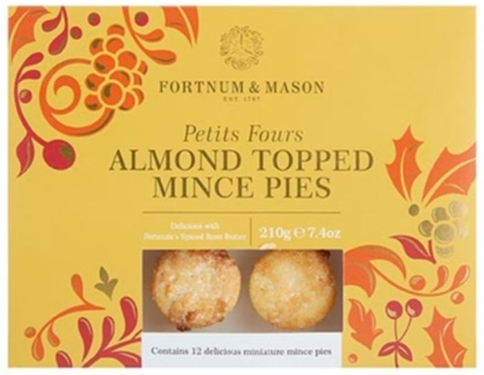 Fortnum & Mason Almond Topped Mince Pies