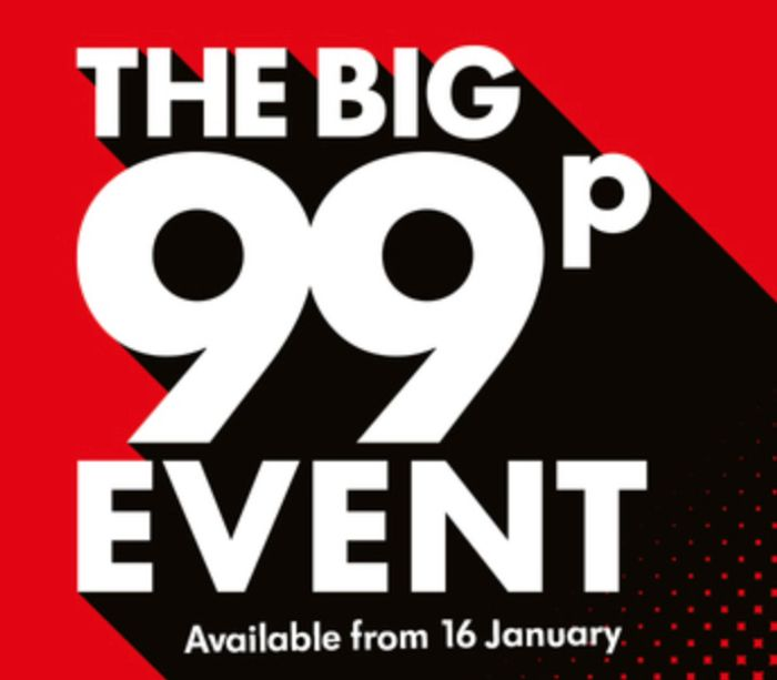 The Big 99p Event at LIDL from 16th January