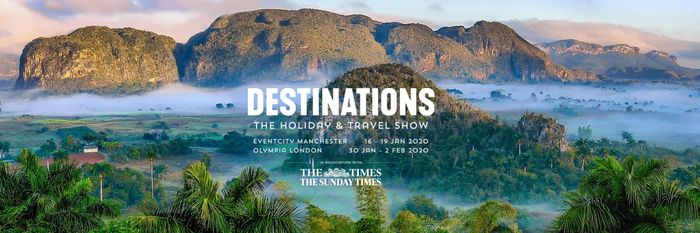 Free Destinations: The Holiday & Travel Show Tickets - London or Manchester