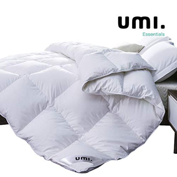 Fusion White Goose down Duvet with 100% Cotton Down-Proof Fabric