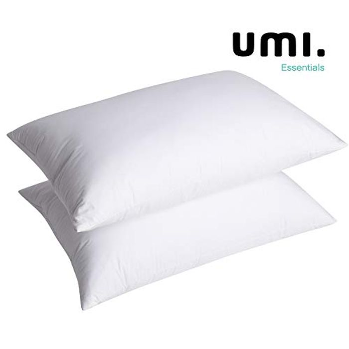 Luxury Hotel Quality Natural White Goose Feather Pillows