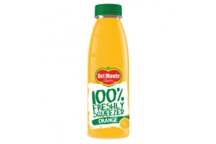 15p Del Monte - 100% Pure Orange Juice - 500ml