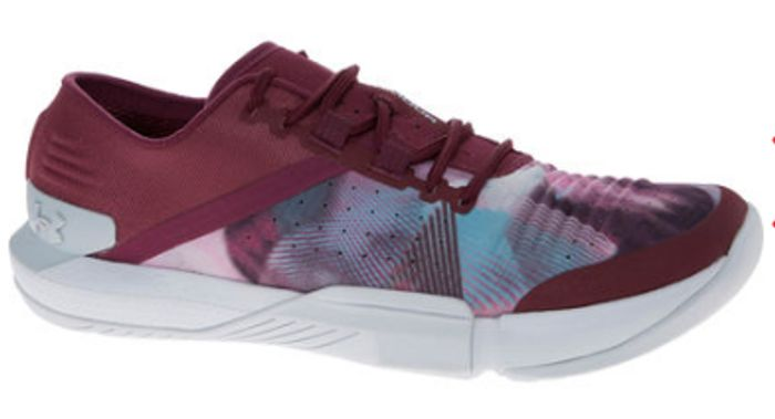 Under Armur Pink and Burgundy Trainers