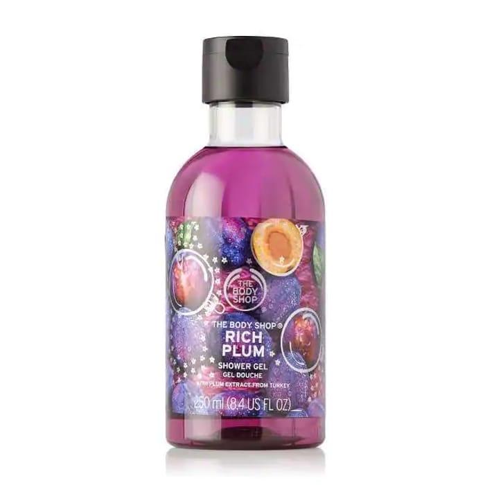 Half Price Body Shop Plum Shower Gel