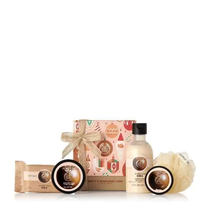Five Piece Shea Butter Gift Set , Half Price at Body Shop