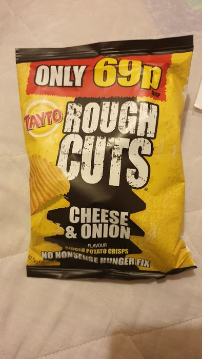 Tayto Cheese and Onion Crisps 4 for £1