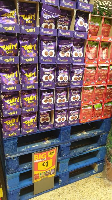 £1 Cadbury Share Bags