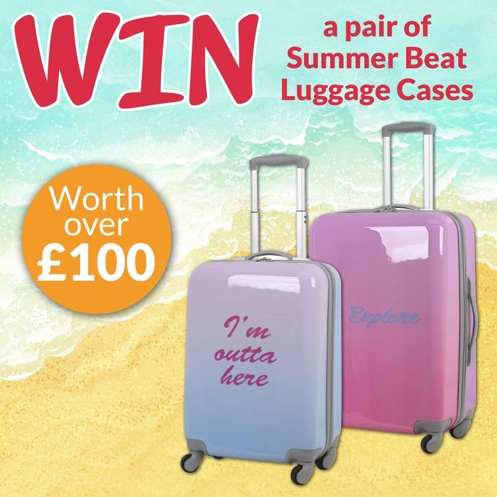 Win a Summer Beat Luggage Set!