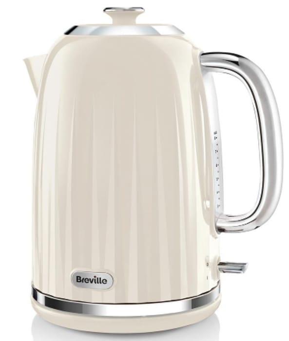 BREVILLE Impressions VKJ956 Jug Kettle Vanilla Cream