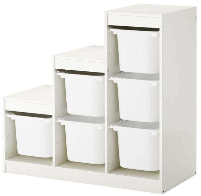 TROFAST Storage Combination with Boxes Only £49
