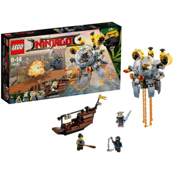 LEGO Ninjago Movie Flying Jelly Sub - 70610 Only £15