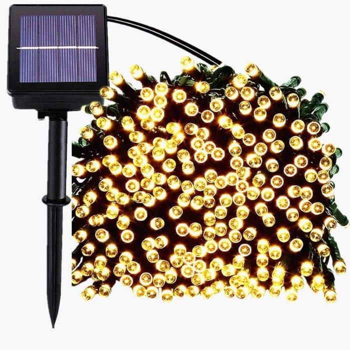 Deal Stack - Solar Lights - £2 off + Lightning Deal
