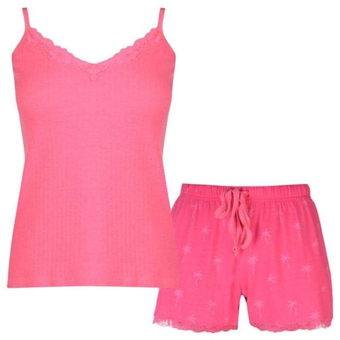 GOLDDIGGA Cami Pyjama Set Ladies BETTER than HALF PRICE
