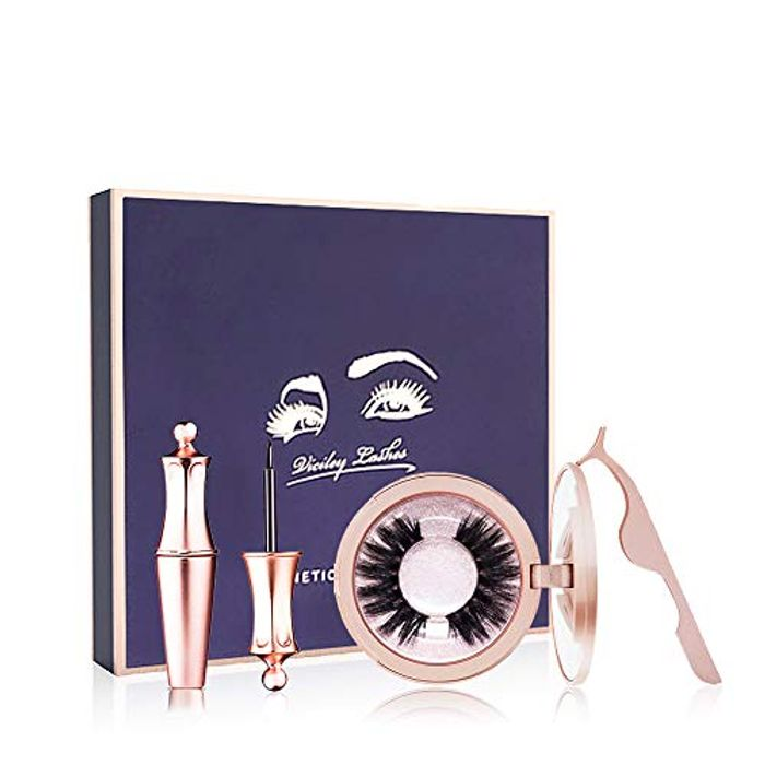 60% off Magnetic Eyelashes 2 pack + Eyeliner Set