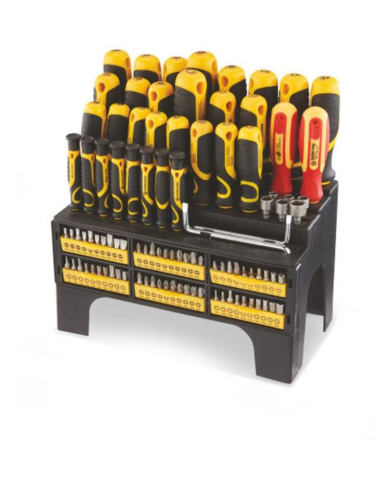 100 Piece Screwdriver and Bit Set - £19.99 (Instore) or £2.95 (Delivery) at Aldi