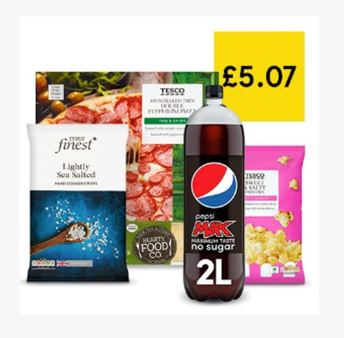 Your Cosy Nights In Bundle For £5.07 *Put That Take-Away On Hold!