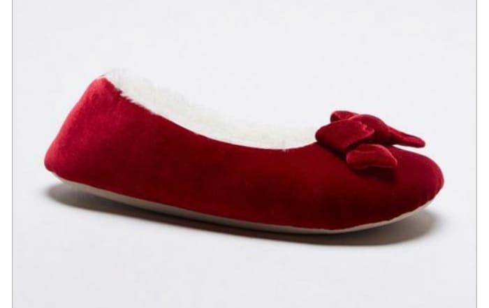 Ballerina Velvet Slippers