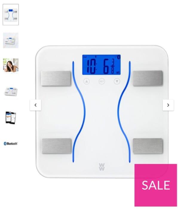 Weight Watchers Bluetooth Analyser Bathroom Scales