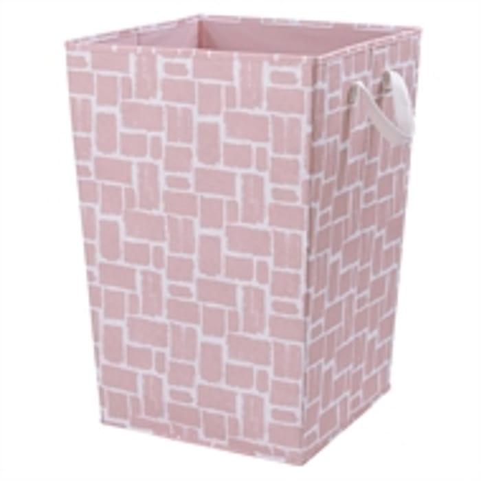 Blush Pink Laundry Hamper