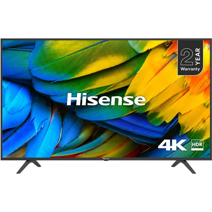 "Best Price! Hisense 50"" Smart 4K Ultra HD TV with HDR10 and DTS Studio Sound"