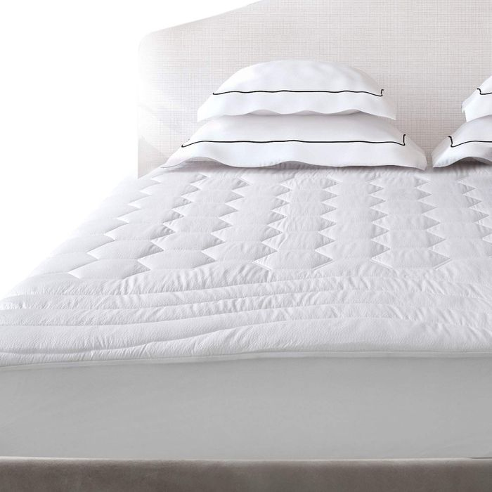 50% off Bedsure Quilted Fitted Mattress Pad Protector, up to 30cm Deep Pocket