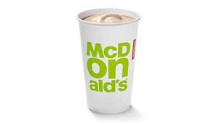 Free McDonald's Milkshake or Coke Zero