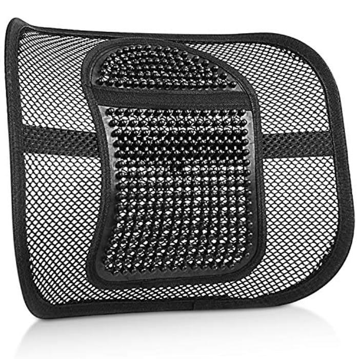 Back Support Cushion, Air Flow Mesh Back Cushion Lumbar Support