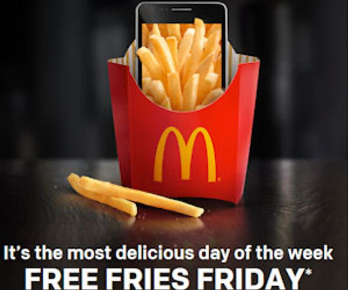 Free Fries Friday is Back !