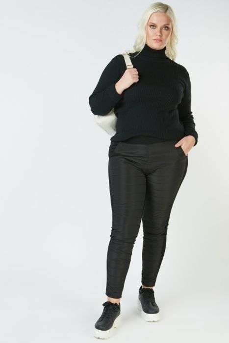 Quilted Front Skinny Trousers HALF PRICE