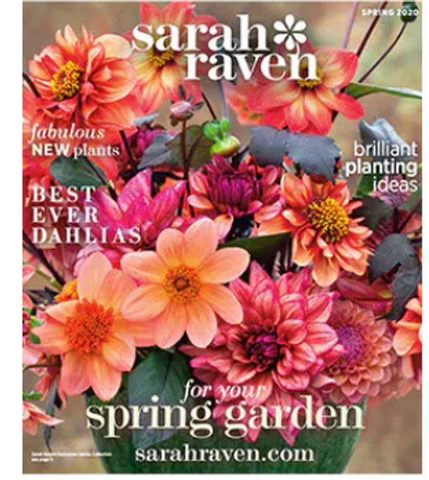 Get A SARAH RAVEN Spring 2020 Gardening Catalogue FREE BY POST