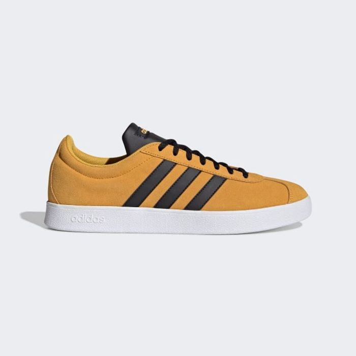 Adidas Vl Court 2.0 in Gold for £27.48 Inc Delivery at Adidas Shop