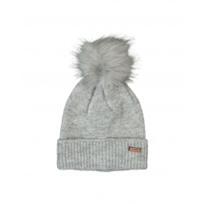 Barbour - Sparkle Knit Pom Beanie - Grey - W003676  Was £25 Now £15