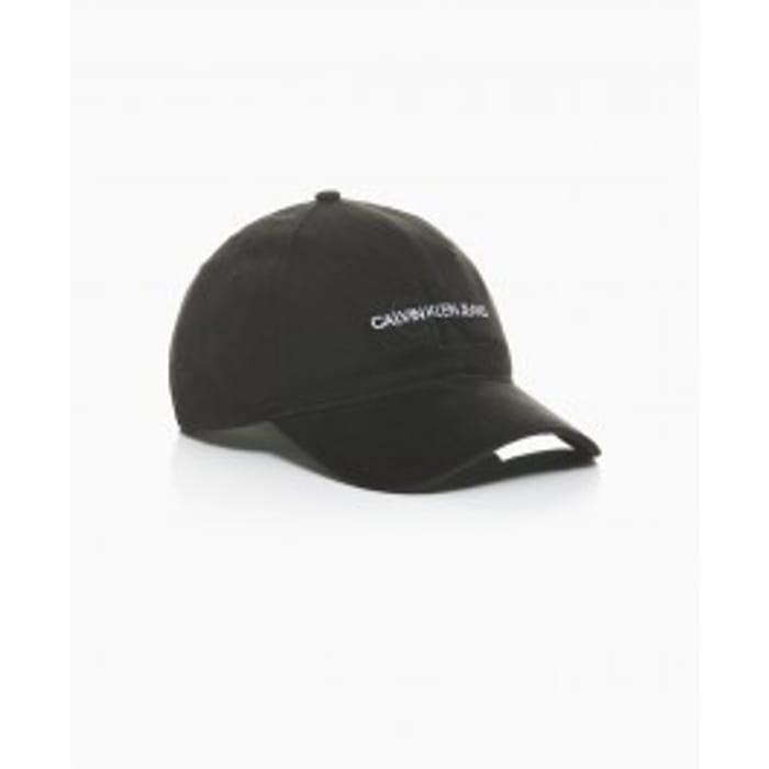 Calvin Klein - Re-Issue Monogram Cap - Black - W003635 Was £30 Now £18