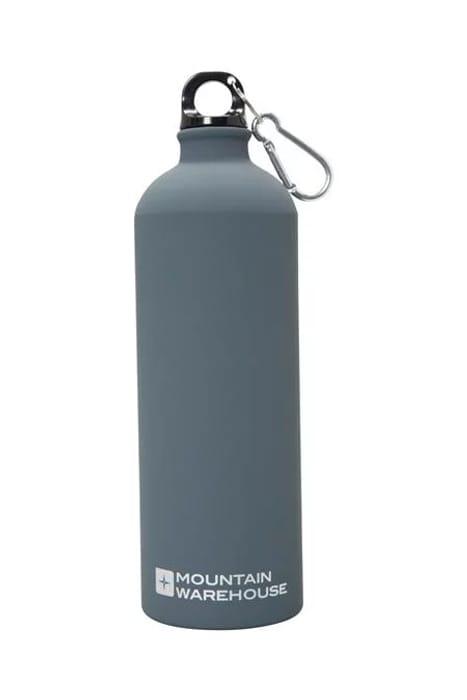 1L Matt Finish Bottle with Karabiner - Mountain Warehouse