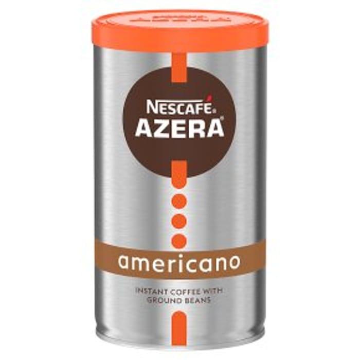 Nescaf Azera Instant Coffee Americano100g HALF PRICE !