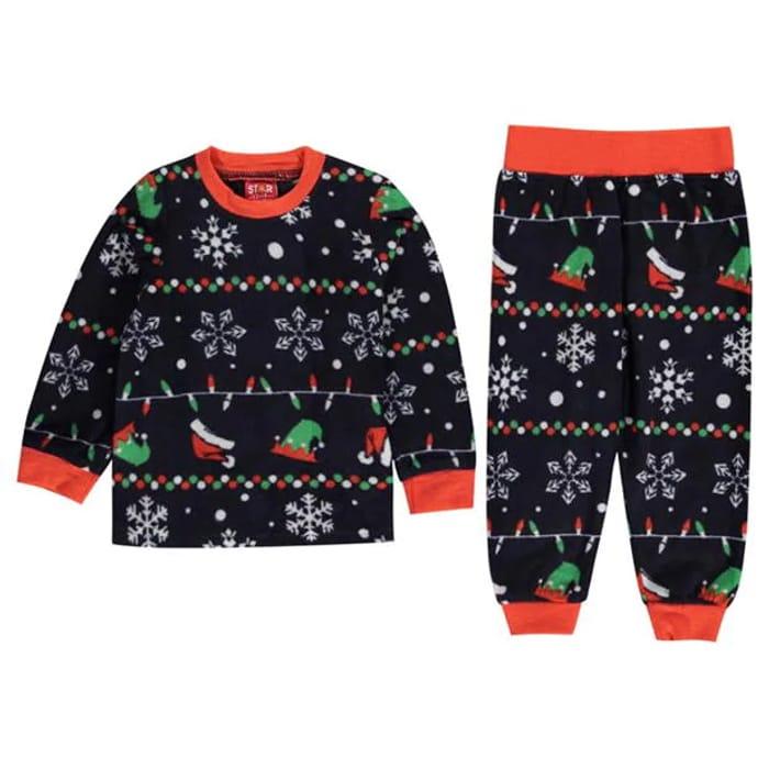 Best Price! STAR Christmas Family Pyjamas Infants